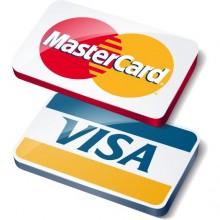 Мы принимаем оплату картами VISA и MasterCard
