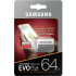 Samsung Evo Plus microSDXC 64Gb + SD адаптер (MB-MC64GA)