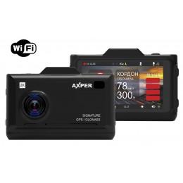 Видеорегистратор с радар-детектором AXPER Combo Hybrid Wi