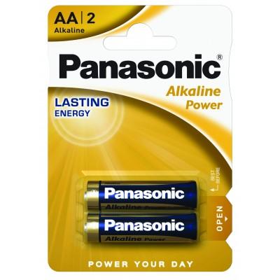 Батарейка PANASONIC Alkaline LR6 2BP