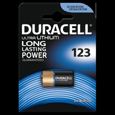 Батарейка DURACELL Lithium CR123A BP
