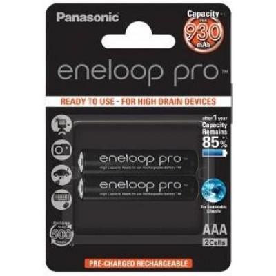Аккумулятор PANASONIC eneloop Pro AAA 930mAh/BK-4HCDE 2BP