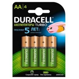 Аккумулятор DURACELL AA 2500mAh 4BP