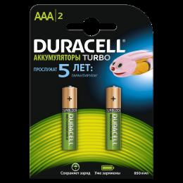 Аккумулятор DURACELL AAA 900mAh 2BP