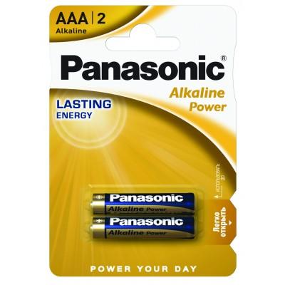 Батарейка PANASONIC Alkaline LR03 2BP