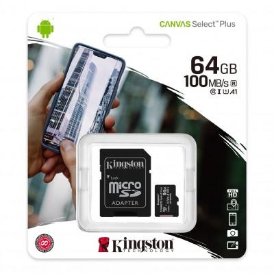 Kingston Canvas Select Plus microSD 64GB